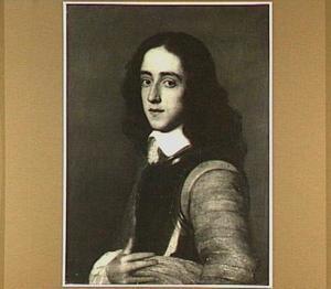 Portret van een jonge man in een kuras
