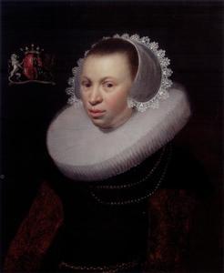 Portret van Catharina van Beverwijck (1613-1691)