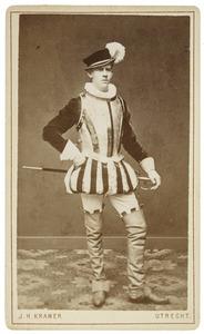 Portret van Lodewijk Willem van der Goes (1860-1929) als Heer van Bours