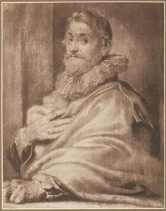 Portret van Pieter de Jode I (1570-1634)