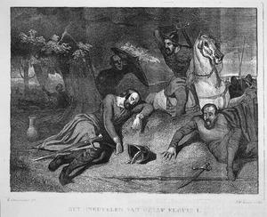 Het sneuvelen van graaf Floris I