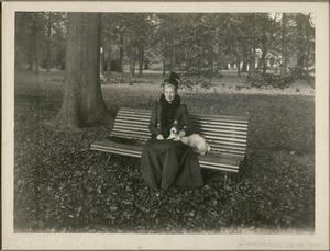Portret van Frederika Louisa Henriette van de Poll (1853-1946)