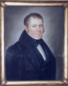 Portret van Johannes Goemans (1800-1873)
