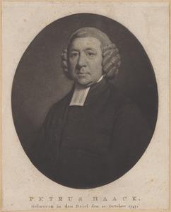 Portret van Petrus Haack (1747-1824