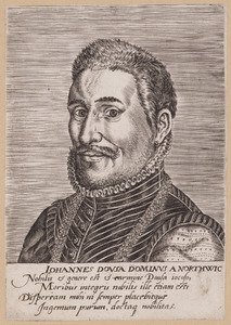 Portret van Jan van der Does (1545-1604)