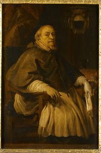 Portret van François Villain de Gand,  Baron de Rassenghem, Bisschop van Doornik