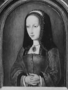 Portret van Johanna 'de Waanzinnige' van Aragon en Castilie (1479-1555)