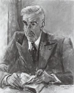 Portret van Arie ten Bokkel Huinink (1885-1959)