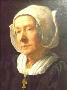 Portret van Griet Smit-Calis