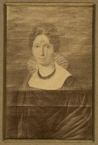 Portret van Anna Elisabeth Cramer (1784-1869)