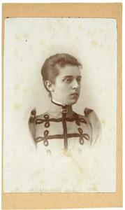 Portret van Louise Johanna van Hardenbroek van Lockhorst (1870- )
