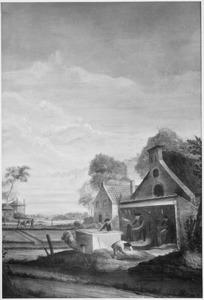 De hennepteelt; Het drogen op het vuur en het braken van hennep