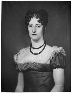 Portret van Catharina Maria Johanna Hermanna van Asbeck (1790-1855)
