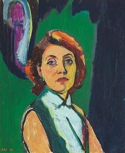 Portret van Hens Rammers (1920-2009)