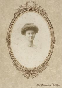Portret van Cecilia Gevers (1888-1978)
