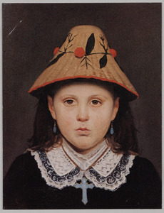 Portret van Maria Isabella Wilhelmina Hendrika Slager (1873-1947)