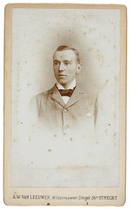 Portret van Hubert Matthijs Adriaan Jan van Asch van Wijck (1875-1962)