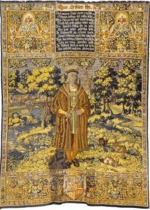 Hans (1455-1513) met de slag bij Rotebro in de achtergrond