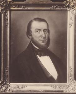 Portret van Jeppe Pieters Carst (1802-1861)