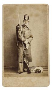 Portret van een man, waarschijnlijk August Leopold Frederik Theodoor van der Wyck (1844-1908)