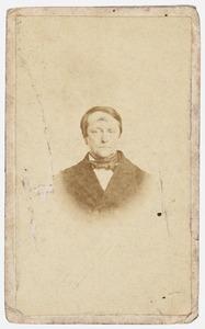 Portret van Ulrich Jan Huber (1814-1870)