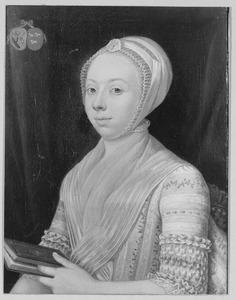 Portret van Johanna van Rijckevorsel (1750-1780)