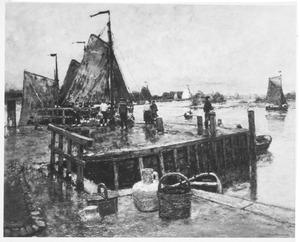 Vissershaven bij Dordrecht