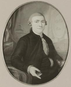 Portret van Willem Bartholomeus van den Santheuvel (1729-1793)