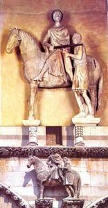 Sint Maarten in de kathedraal van Lucca