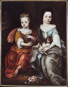 Portret van Anna Hattinga (1695-1705) en Elisabeth Hattinga (1697-1760)