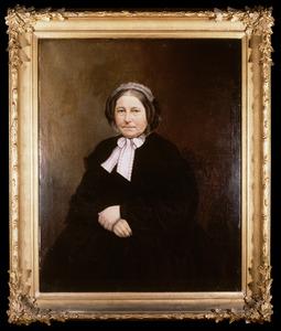 Portret van een vrouw, mogelijk Dina Elisabeth Marcus (1815-1889)