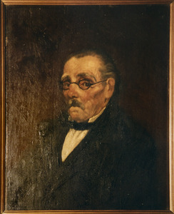 Portret van Leopoldus Franciscus Hubertus van Waegeningh (1828-1907)