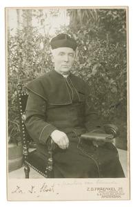 Portret van Dominicus Andreas Willem Hendrik Sloet (1855-1938)