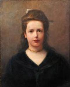 Portret van Gerarda Frederika Boogers (1891-1968)