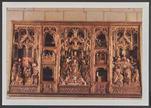 Het retabel van de kroning van Maria