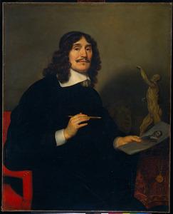 Portret van een onbekende kunstenaar