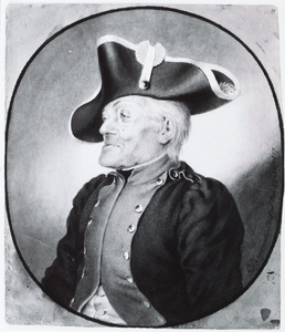 Portret van Johann Georg Sauer (1713-1818)