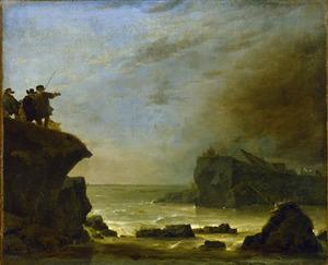 De doorbraak van de Sint-Anthonis- of Diemerdijk bij Houtewael op 5 maart 1651