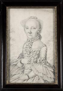 Portret van Johanna Susanna van der Mandere (1714-1793)