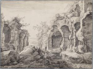 Capriccio van klassieke ruïnes