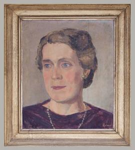 Portret van Mathilde Elisabeth Hees (1899-1964)