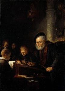 De schoolmeester