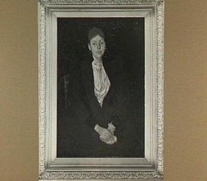 Portret van mevrouw A. Loopuit
