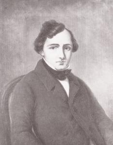 Portret van Anton Peters (1812-1872)