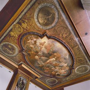 Plafonddecoratie met het verhaal van Pandora