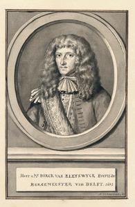 Portret van Dirck van Bleyswijck (1639-1681)
