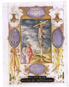 De kruisiging van Christus (Mattheus 27:45-58)