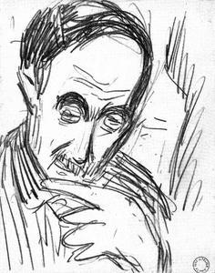 Portret van Hendrik Werkman (1882-1945)
