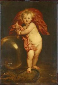 Het Christuskind als de Verlosser van de wereld, 'Salvator Mundi'