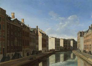 De Gouden Bocht in de Herengracht in Amsterdam vanuit het oosten